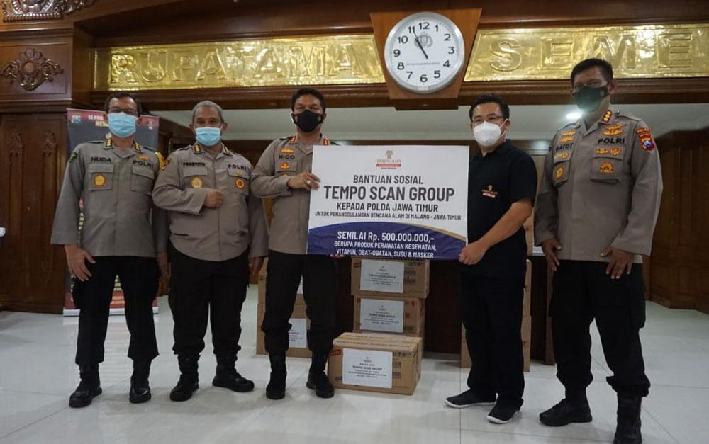 Aksi Peduli Kemanusiaan, Tempo Scan Donasikan Rp 500 Juta untuk Penanggulangan Bencana Alam di Malang, Jawa Timur