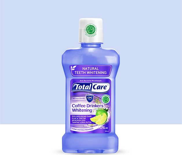 Total Care Mouthwash Coffee Drinkers Whitening