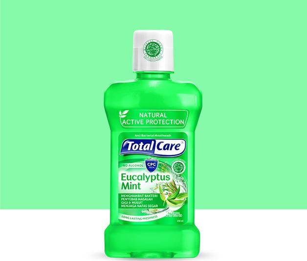 Total Care Mouthwash Eucalyptus Mint