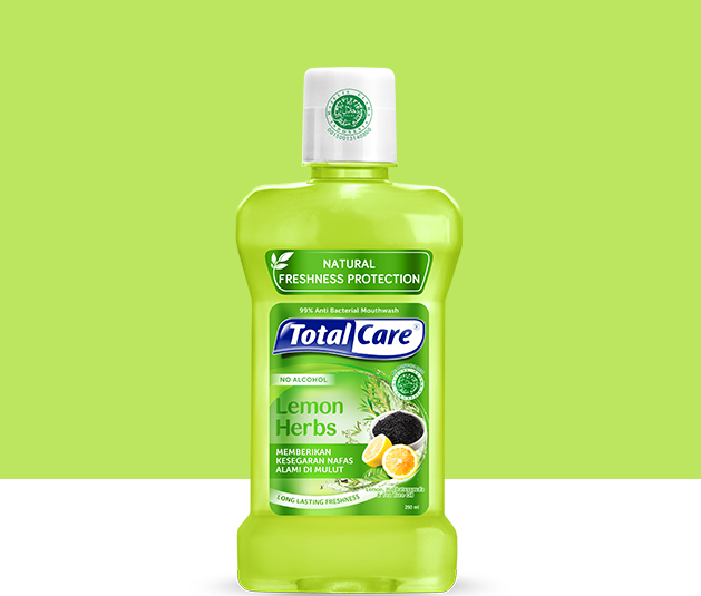 Total Care Mouthwash Lemon Herbs