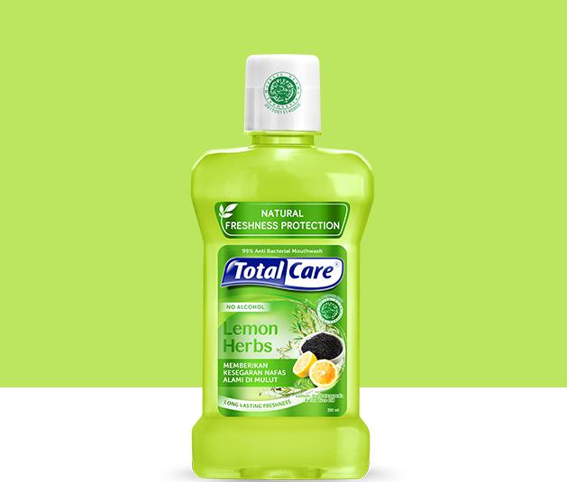 Total Care Mouthwash Lemon Herbs