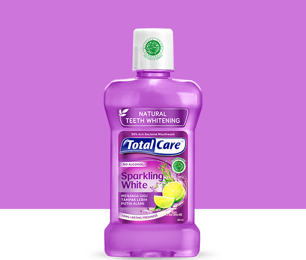 Total Care Mouthwash Sparkling White