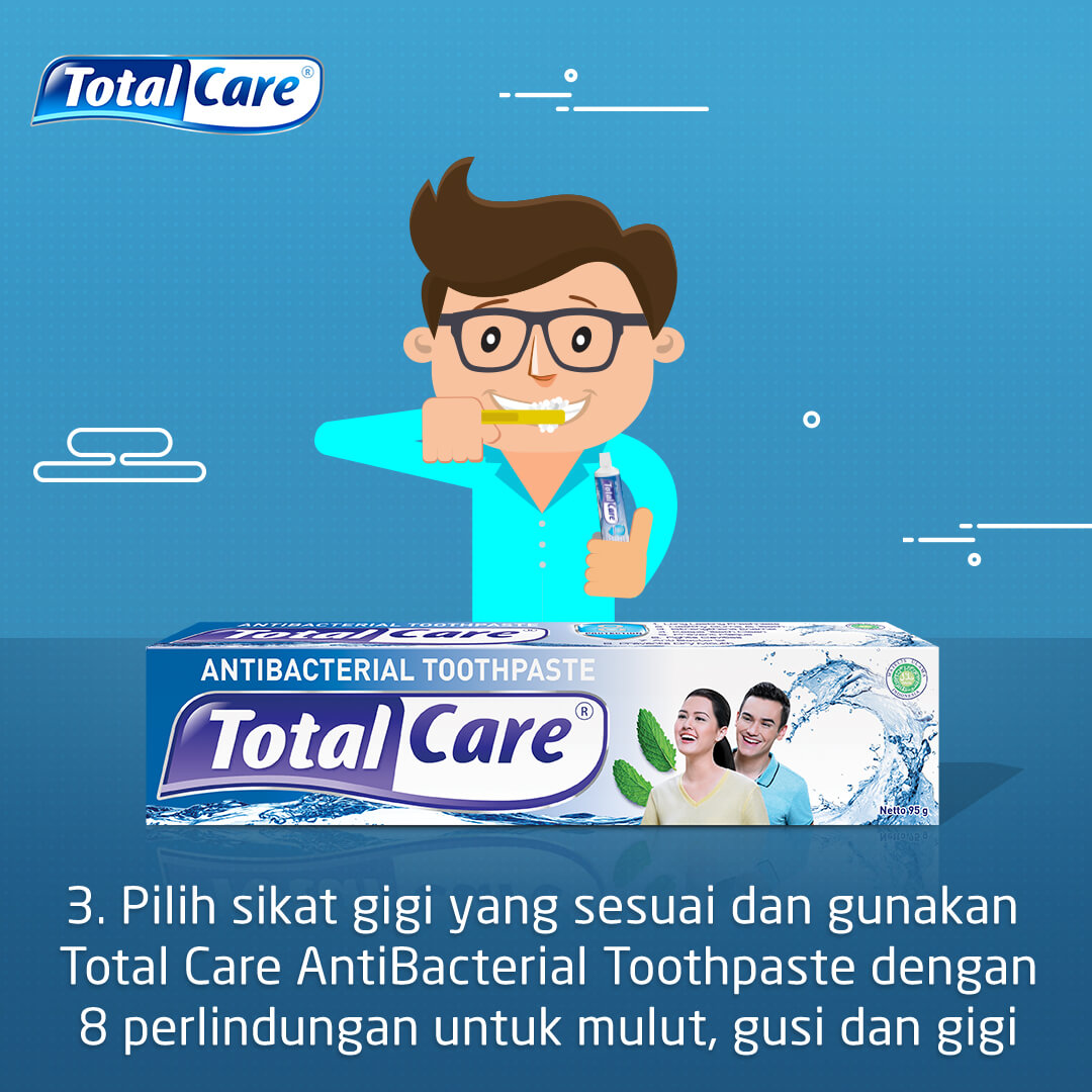 3 KELEBIHAN TOTAL CARE COOLMINT MOUTHWASH